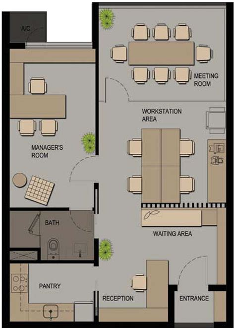 Create A House Floor Plan Online Free by Small Office Floor Plan Layout