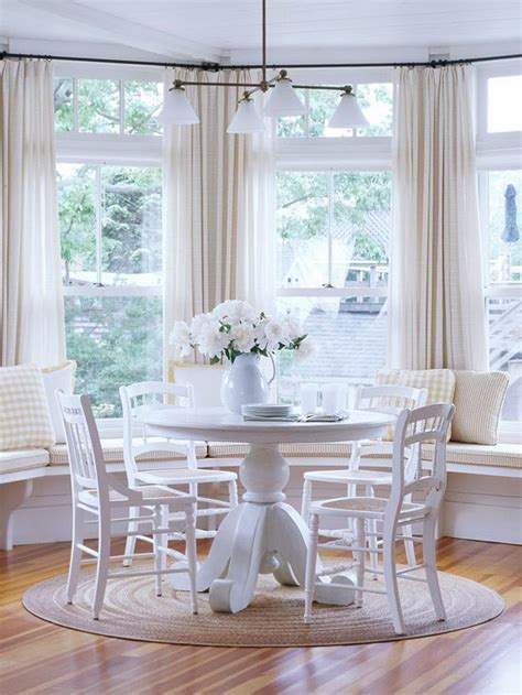 Bay Window Seat Kitchen Table Modern Furniture 2014 Comfort Breakfast Nook Decorating Ideas