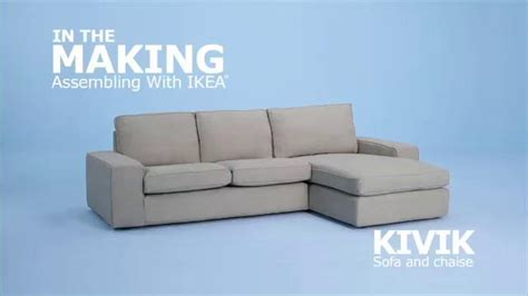 ikea couch assembly ikea kivik sofa assembly on vimeo