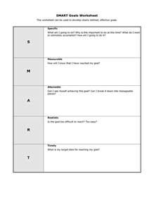 smart goals templates educational smart goals template smart goals worksheet