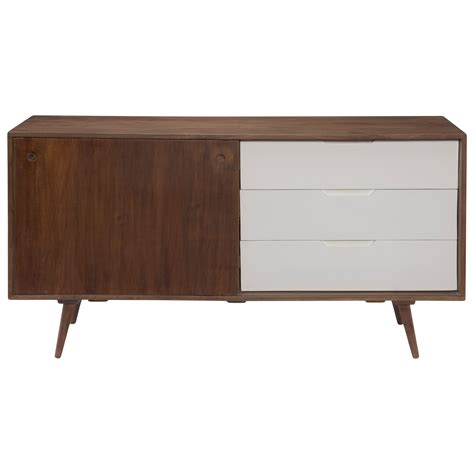 Sideboard Sofa by Moe S Home Collection Blossom Sideboard With 3 Drawers