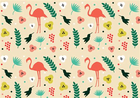 hawaiian pattern vector free free tropical pattern vector download free vector art