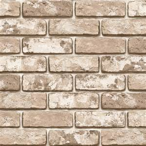 Self Adhesive Wallpaper by Brown Brick Effect Wallpaper Self Adhesive Vinyl Sheets