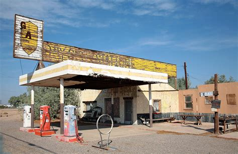 Route 66 Gas Station | panoramio photo of gas station route 66