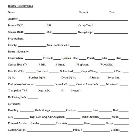 Sample Quote Sheet   10  Examples, Format