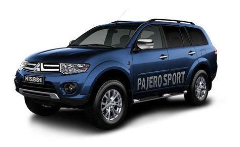 mitsubishi black cars mitsubishi pajero sport india price review images