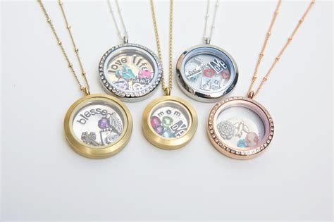Origami Necklace Locket - buy origami owl jewelry charms necklace products