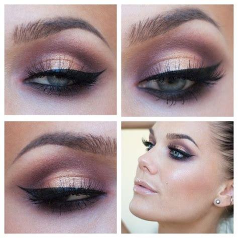 pink brown eyeshadow smokey pink brown eyeshadow makeup eye black eyeliner