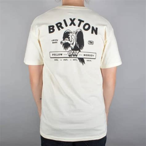 T Shirt Brixton brixton loner t shirt white skate clothing from