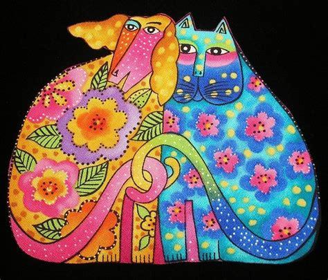 Laurel Burch Felines   laurel burch cats dogs canines felines kindred spirits 4