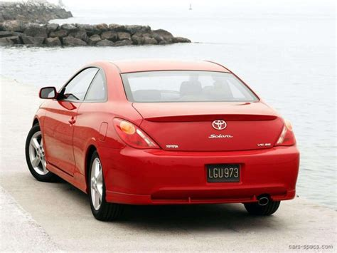 2004 Toyota Camry Solara Coupe 2004 Toyota Camry Solara Coupe Specifications Pictures