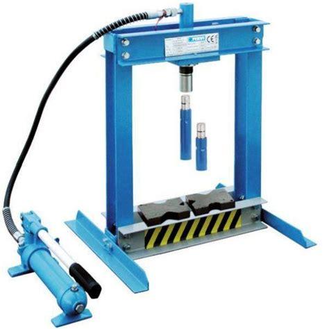 pressa da banco pressa idraulica oleodinamica da banco con comando manuale