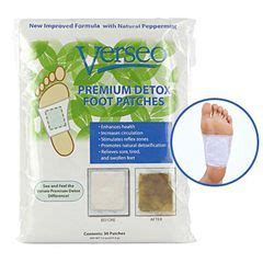 Japan Detox Patch Reviews by Verseo Detox Foot Pads Japanese Foot Patches That Remove
