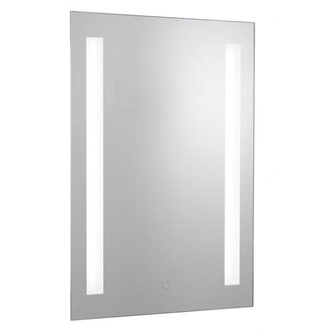 7450 silver finish bathroom mirror