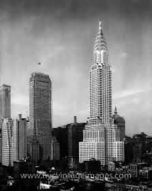 Chrysler Building 1930 Chrysler Building Nyc Vintage Images