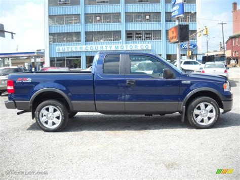 2008 Ford F150 Specs by 2008 Blue Pearl Metallic Ford F150 Fx4 Supercab 4x4
