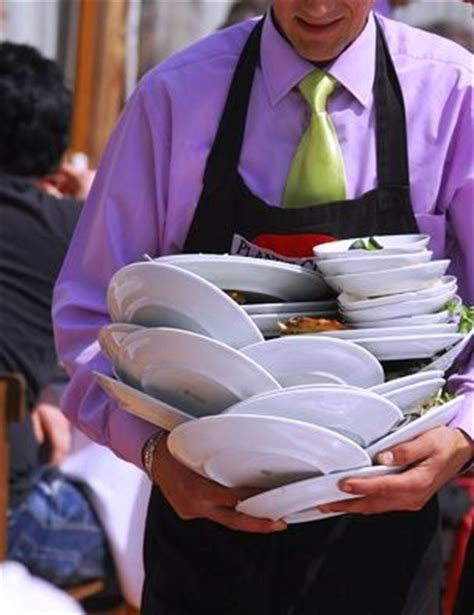 Clear The Table by How A Waiter Should Clear Guest Table At Restaurant
