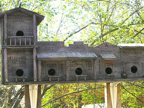 multi family bird houses woodworking projects plans