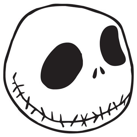 jack skellington die cut vinyl decal pv583