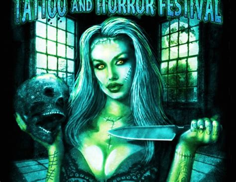 full moon tattoo and horror festival moon and horror festival moonitis