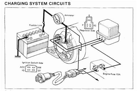 90 toyota truck alternator wiring diagram 90 free engine