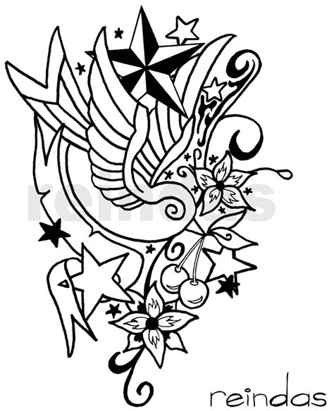 new art tattoo designs new school bw by reindas on deviantart