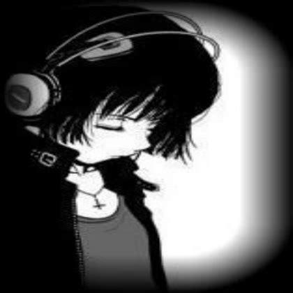 imagenes kawaii emo black and white emo anime girl roblox