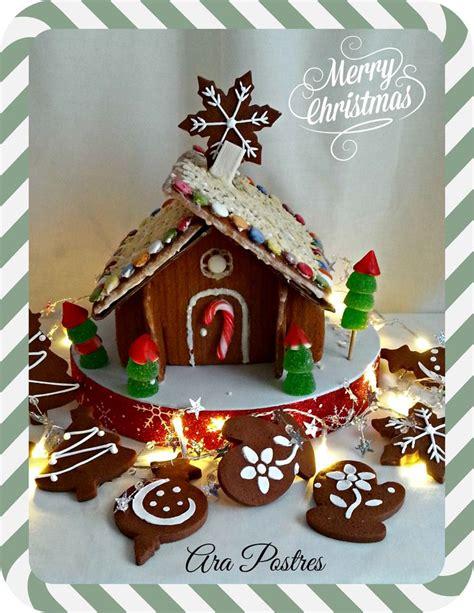 casas de chocolate casa de jengibre y galletas de chocolate con glasa