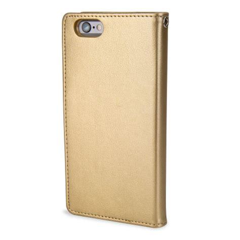 Walet Premium Gold Berkualitas mercury rich diary iphone 6s 6 premium wallet gold