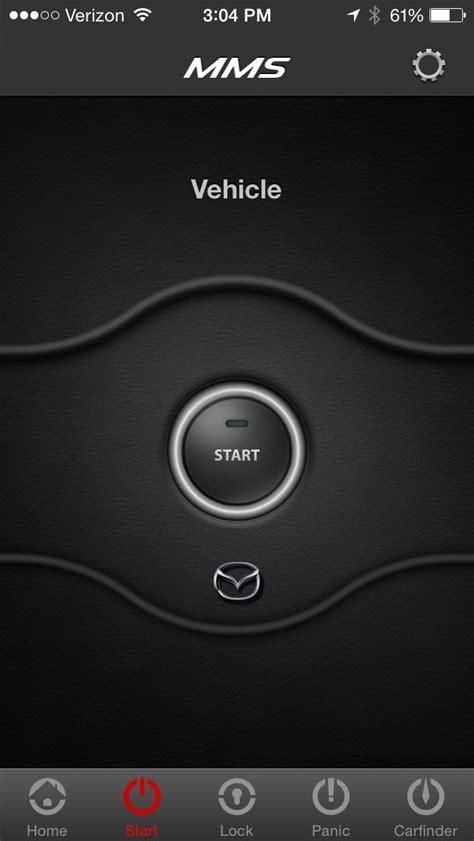 mazda mobile app mazda mobile start is a remote engine start app for