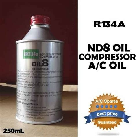 nd 8 hfc r134a a c auto air conditioning compressor denso lubricants nd8 ebay