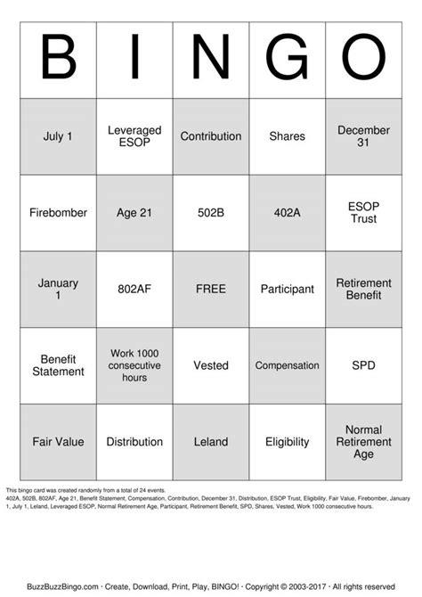 printable retirement games bingo cards printable search results calendar 2015
