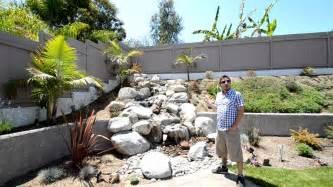 san diego backyard san diego backyard waterfalls by california smartscape