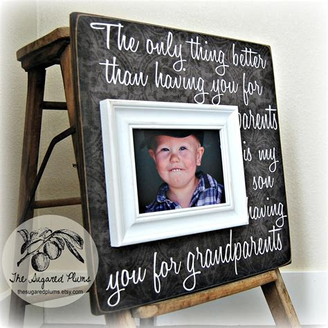 gifts for grandparents personalized picture frame mimi