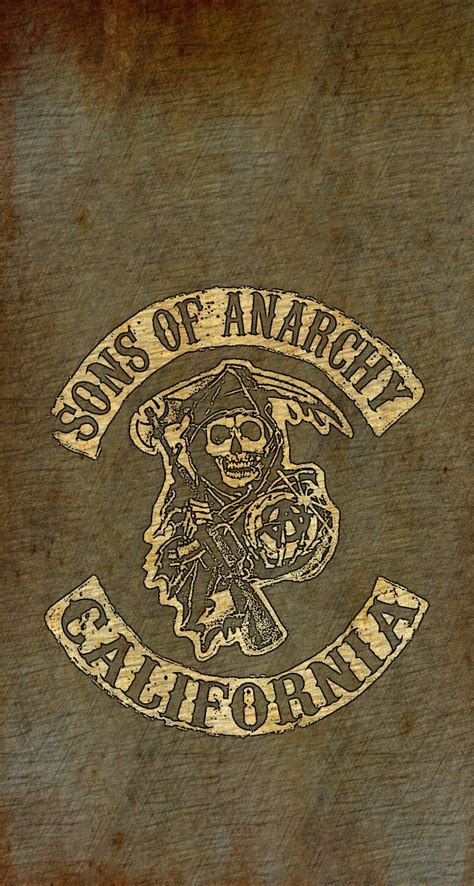 iphone retina wallpapers  iphone csplus sons  anarchy