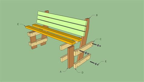 garden bench plans free deck bench plans free howtospecialist how to build