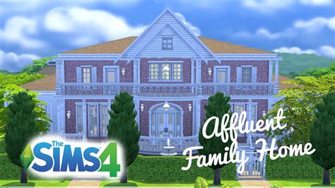 the sims 4 speed build move objects family home the sims 4 speed build affluent family home part two