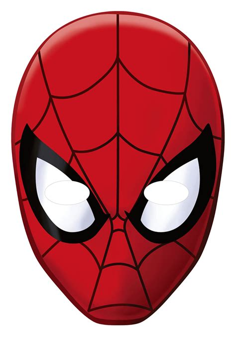 printable mask of spiderman spider man face mask