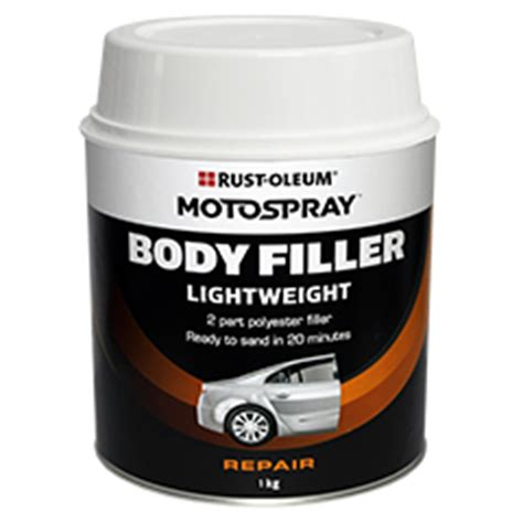 Polyester Putty Alpa 1klg motospray light weight filler