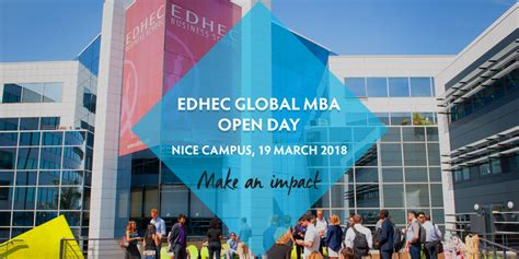 Cranfield Mba Open Day by Edhec Global Mba Open Day Edhec Business School
