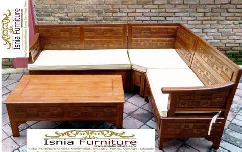 Kursi Tamu Sudut Minimalis Modern 24 kursi tamu sudut minimalis kayu jati modern jual harga murah