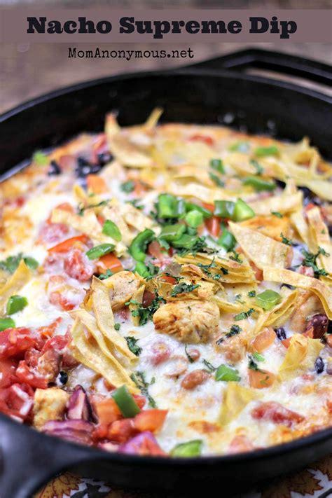 nachos supreme recipe nacho supreme dip and cheese toast with cilantro recipes