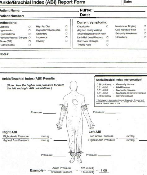 wound care forms template wound ostomy related documents