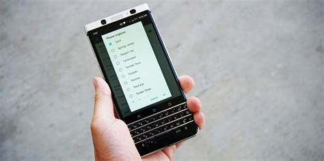 blackberry new ringtone how to change your ringtone on blackberry keyone