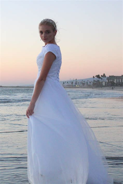 Dress Lace Cecilia cecelia lds modest lace tulle wedding gown with sleeves
