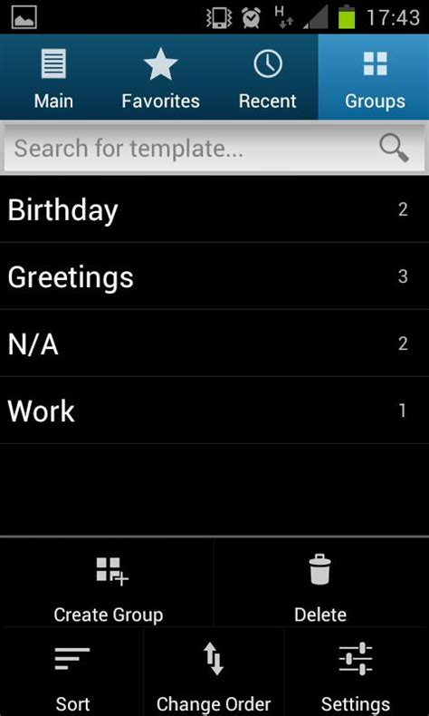 sms templates for android sms templates free edition android apps on google play