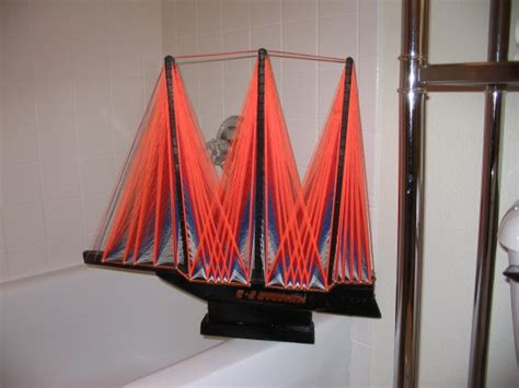 String Boat - the allee willis museum of kitsch 187 string boat