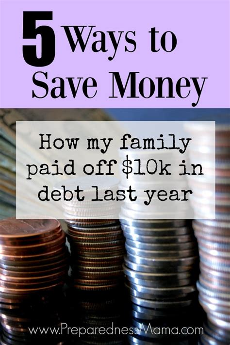 ways  save money preparednessmama