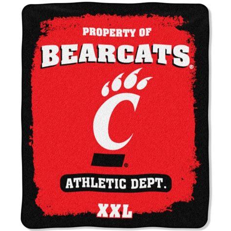 cincinnati schools help desk cincinnati bearcats quot property of quot 50 quot x 60 quot micro
