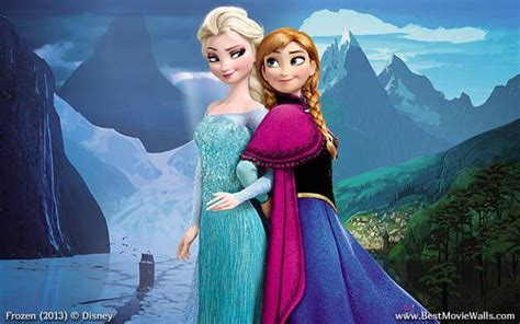 frozen wallpaper hi res frozen sisters high resolution elsa and anna